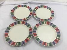 Set Of 4 Majesticware By Sakura Salad Plates