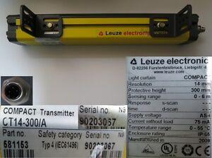 Leuze Lichtgitter Compact Transmitter CT14-300/A  581153  26-1 #2871