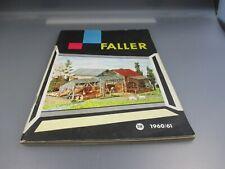 FALLER: Catálogo 1960/61 (Kat1)