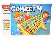 Funskool Connect 4 Game Up-right Checker Dropping Challenger Grid Line Board Row