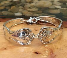 Magnolia aka Inspiration * 1951 * Silver Plate Spoon Bracelet