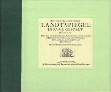 DEN NEDERLANDTSCHEN LANDTSPIEGEL IN RYME GESTELT - Zacharias Heyns (facsimile)