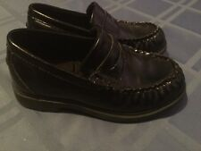 Buster Brown shoes Boys Size 10M black shoes penny loafer