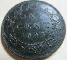 1903 Canada Large Cent Coin. EF NICE GRADE (C302)