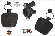 Fondine per Arma Concealment Cuoio Nera Radar All-in Holster Sogliola Universale