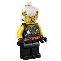 LEGO Teen Wu Sensei Wu Minifigure njo467 NINJAGO Season 9 Hunted Set 70654