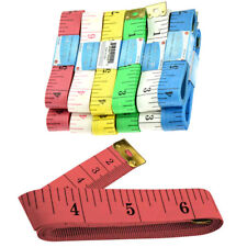 """1 New 60"""" 150cm Soft Fabric Cloth Tape Measure Ruler Dual Sided SAE Metric Diet"""