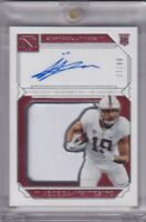 Jj Arcega-Whiteside 2019 National Treasures Collegiate Patch Rc On Card Auto /99