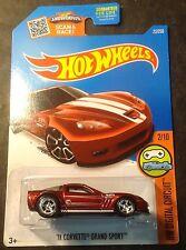 Hot Wheels Custom Regular Hunt '11 Corvette Grand Sport with Real Riders