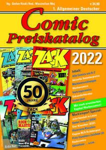 Neu Comic-Preiskatalog 2022 Softcover Ende Oktober Vorbestellung + Bonus