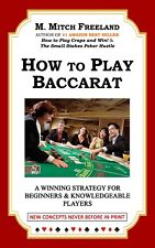 (Digital Book) How to Play Baccarat:  A Winning Strategy by M. Mitch Freeland