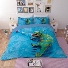 Chameleon Duvet/Quilt/Doona cover Pillowcase bedding set Single Full Queen King
