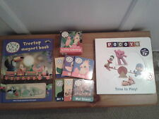 Books – 3rd Bird Treetop Magnetic Book Little Library Samuel/Pocoyo Time To Play