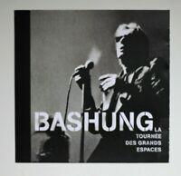 "ALAIN BASHUNG AU BATACLAN LIVE ""GRANDS ESPACES""  ♦ RARE DOUBLE PROMO CD ALBUM ♦"