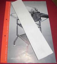 prospekt blatt alt greif rapid 148 druck maschine goslar reklame werbung 1939