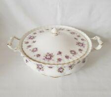 Royal Albert English Bone China Sweet Violets Pattern 2 Handled Serving Tureen