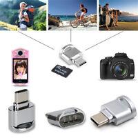 USB 3.1Type C Memory Card Reader OTG Adapter for MacBook Micro SD Phone