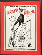 JOUR DE FETE Dossier presse Jacques TATI