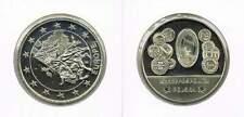 Penning met afbeelding 1 euro en munten Polen (a104)