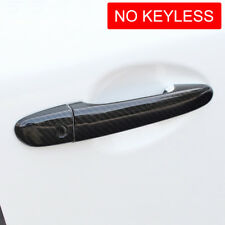 For Mazda 2 3 6 CX3 CX5 CX9 Carbon Fiber Door Handle Cover Protector Decoration