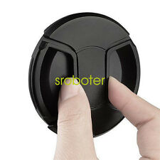 LC-52 Centre Pinch lens cap for Nikon Lenses fit 52mm filter - UK SELLER