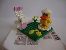 CUSTOM LEGO BUNNY AND CHICK SET & INSTRUCTIONS