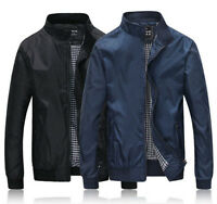 Mens Jacket Summer Lightweight Bomber Coats New jackets