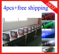 9*10W RGBW 4 in 1 Wireless DMX512 Battery Power Led Par Light Stage Uplight 4pcs