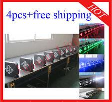 4pcs 9*10W RGBW 4 in 1 Wireless DMX512 Battery Power Led Par Light Free Shipping