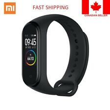 Mi Band 4 Smart Black Colour - Global Version Water Proof- Fast Ship from Canada