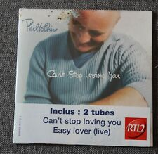Phil Collins, can't stop loving you / easy lover (live), CD single