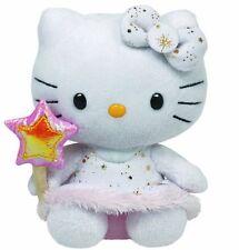 Peluche Hello Kitty con Varita Estrella Original marca ty Sanrio Juguete Angel