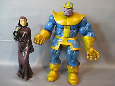 "Marvel Select ""THANOS w/ DEATH""  8 Inch Action Figure 2011"
