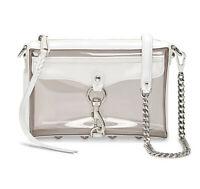 NWT REBECCA MINKOFF Mini Mac Crossbody Clear Chain Bag Cute XS19EPXX01 Smoke