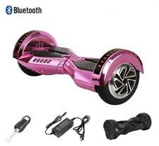 Chrome Pink hoover board Lamborghini Wheels Electric Motorized Scooter Bluetooth