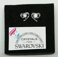 Orecchini argento 925 e Swarovski  punto luce donna ragazza