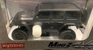 Kyosho Mini-Z, 4X4 MX-01 Jeep Wrangler Rubicon Granite Metallic, RTR-Set, neu!