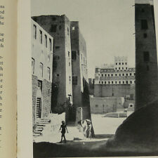 Wadi Hadhramaut Yemen South Arabia in the 1930s w/22 photos Seiyun Shibam Tarim