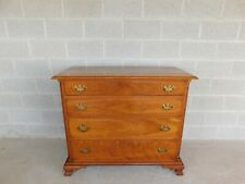 L & J G Stickley Cherry Valley Chippendale Style Chest