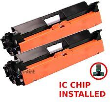 2pk CF230A Toner Cartridge For HP 30A Laserjet M227fdn M203dn M203dw M227fdw