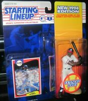 Starting Lineup Fred McGriff sports figure 1994 Kenner Atlanta Braves SLU MLB