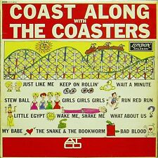 THE COASTERS 'COAST ALONG WITH THE COASTERS' ORIGINAL UK LP 1B/1B MONO LONDON