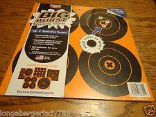 """12 6 """" SELF ADHESIVE BIG BURST REVEALING TARGETS RIFLE SHOOTING GUN PISTOL RIFLE"""