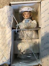 Nib Danbury Mint Storybook Doll Collection Little Bo Peep Porcelain Doll 11�