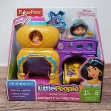 Fisher Price Disney Princess Little People Jasmine's Friendship Palace Girl Toy