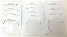 Music Wire Assortment - 13 Wires - Sizes 0 - 12