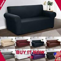 Assorted 1//2//3-Seater Sofa Slipcover Protector Quilted Couch Settee Cover Case