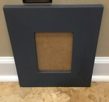 "New Pottery Barn Kids Charcoal Harper Rectangle Frame 5""x7"" Navy *minor issue*"
