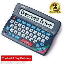 Seiko er3700 Electrónica Oxford Crossword Solver Diccionario Corrector ortográfico de escritorio