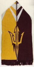 NCAA Arizona State Sun Devils Adidas Winter Knit Fringe Scarf Style # S616Z NEW!